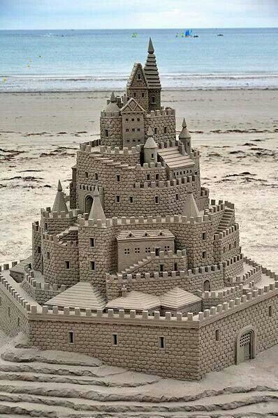 The Rough Draft: Building Sand Castles