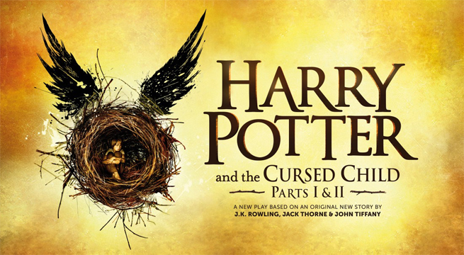 Harry Potter is back (with a Cursed Child)