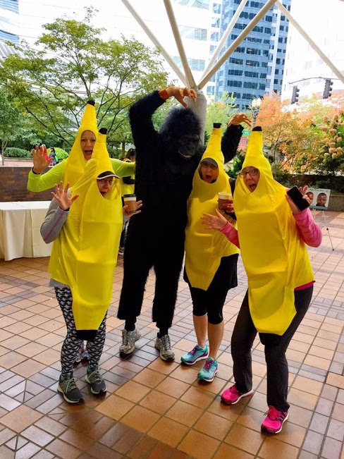 Going Bananas (while being chased by gorillas) – for charity.