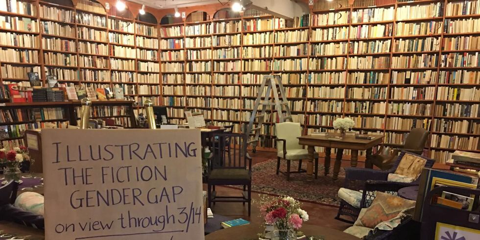 The Ladies of Literature (the gender gap and other surprisingrevelations)