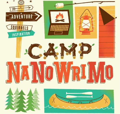 Camp NaNoWriMo (let the adventures begin)